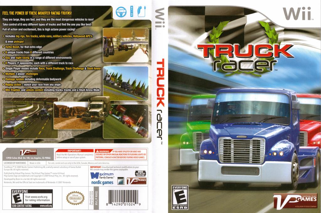Truck Racer Wii coverfullHQ (RIKEQH)