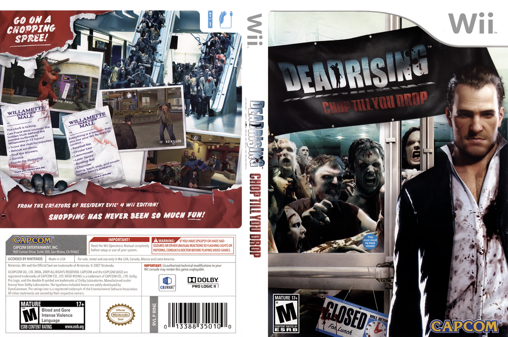 Dead Rising: Chop Till You Drop Wii coverfullHQ (RINE08)