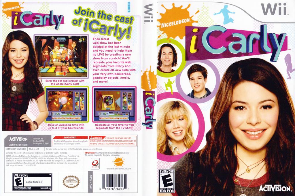 iCarly Wii coverfullHQ (RL5E52)