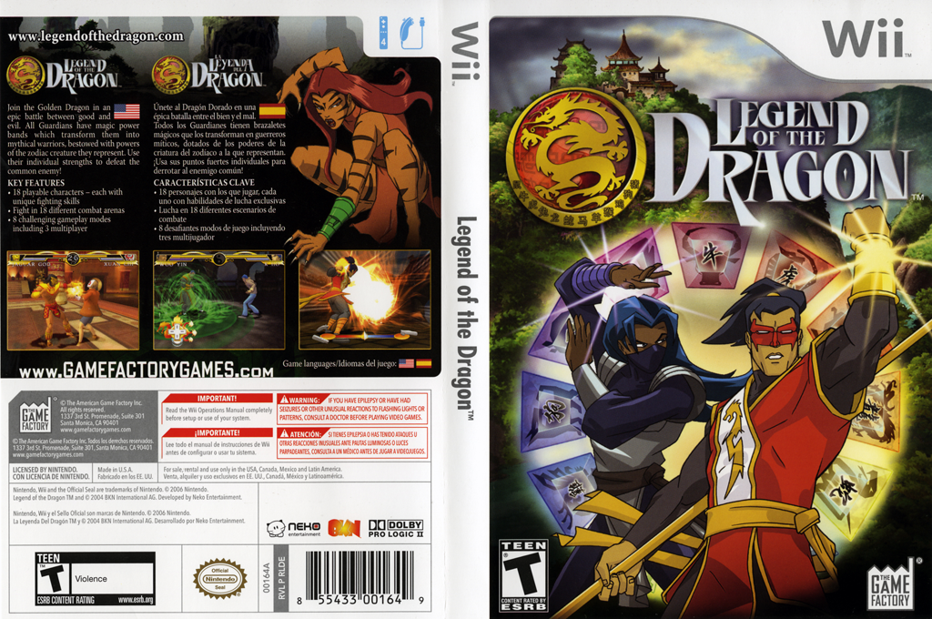 Legend of the Dragon Wii coverfullHQ (RLDEGY)