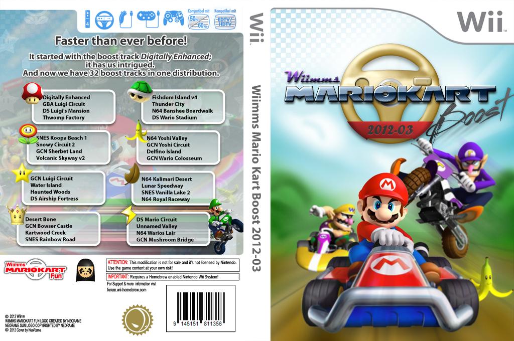 Wiimms MKW Boost 2012-03.ntsc Wii coverfullHQ (RMCE15)
