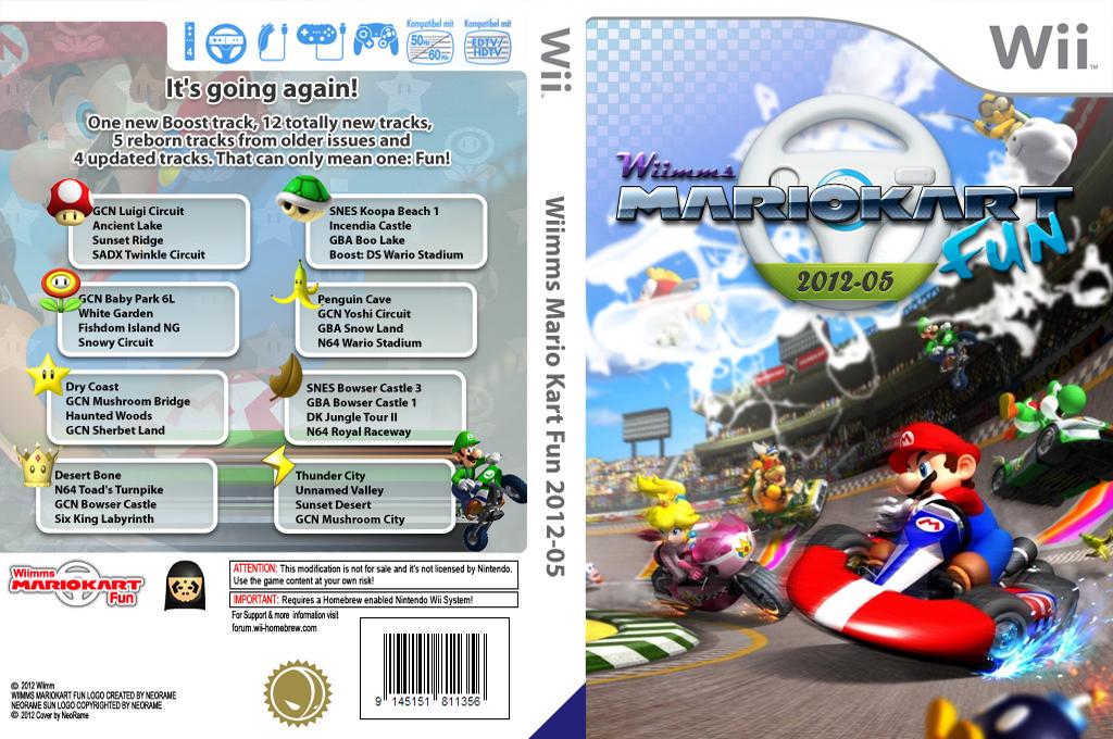 Wiimms MKW Fun 2012-05.ntsc Wii coverfullHQ (RMCE16)