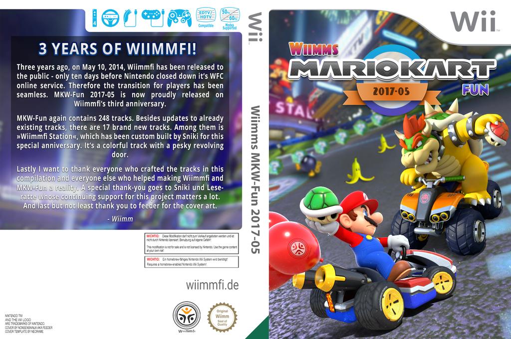 Wiimms MKW-Fun 2017-05.usa Wii coverfullHQ (RMCE34)