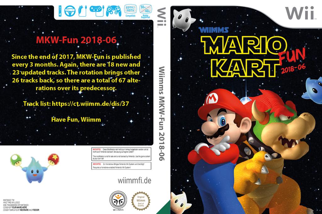 Wiimms MKW-Fun 2018-06.usa Wii coverfullHQ (RMCE37)
