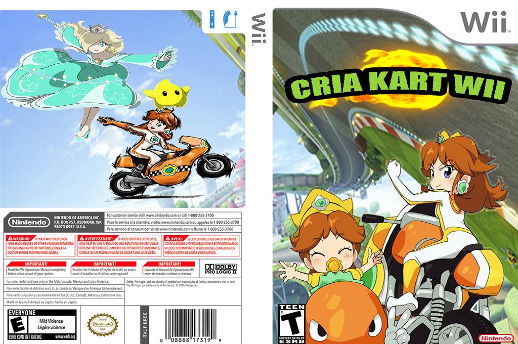 Cria Kart Wii Wii coverfullHQ (RMCE69)