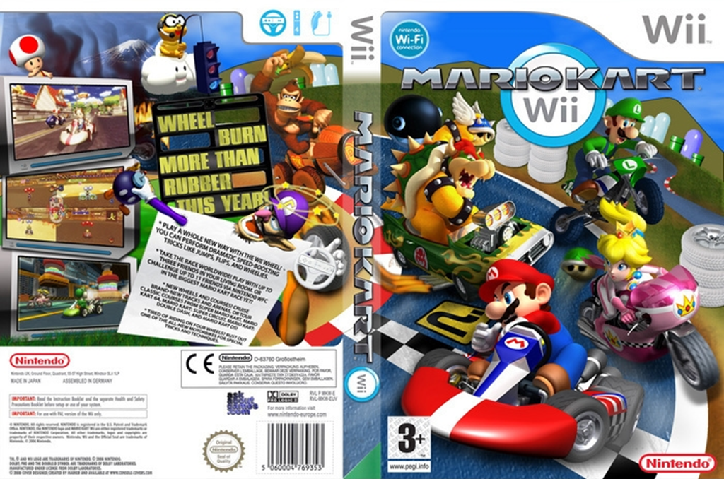 Mario Kart Wii 2017 Wii coverfullHQ (RMCEB1)