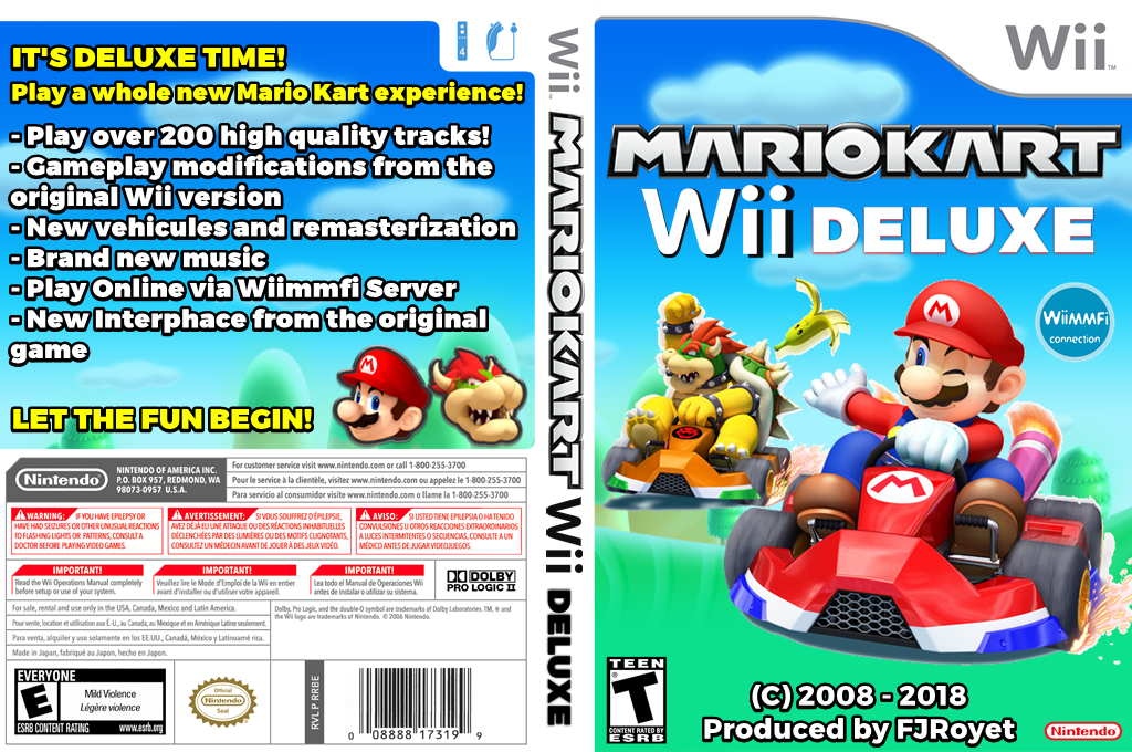 Mario Kart Wii Deluxe Wii coverfullHQ (RMCEB4)