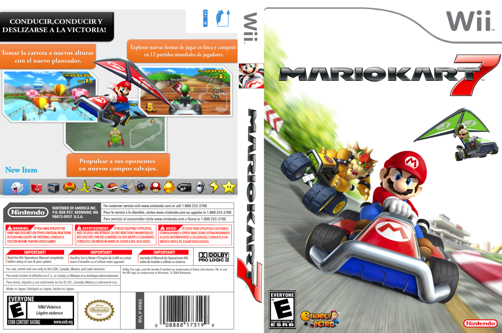 Rmceb6 Mario Kart 7 Jy