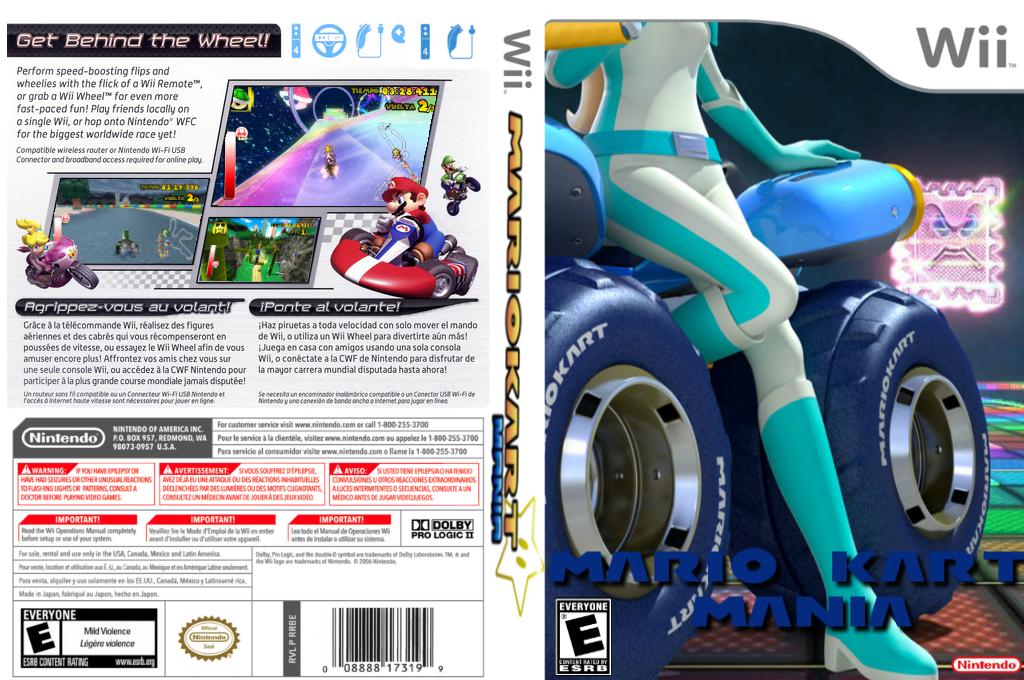 Mario Kart Mania Wii coverfullHQ (RMCEB8)