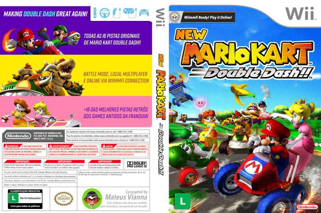 RMCEM9 - New Mario Kart: Double Dash!!