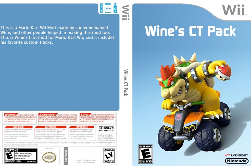 Wine's CT Pack Wii coverfullHQ (RMCEWS)