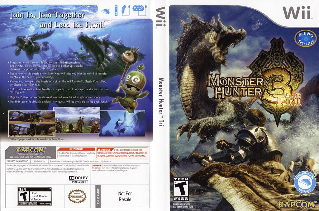 Monster Hunter Tri Wii coverfullHQ (RMHE08)