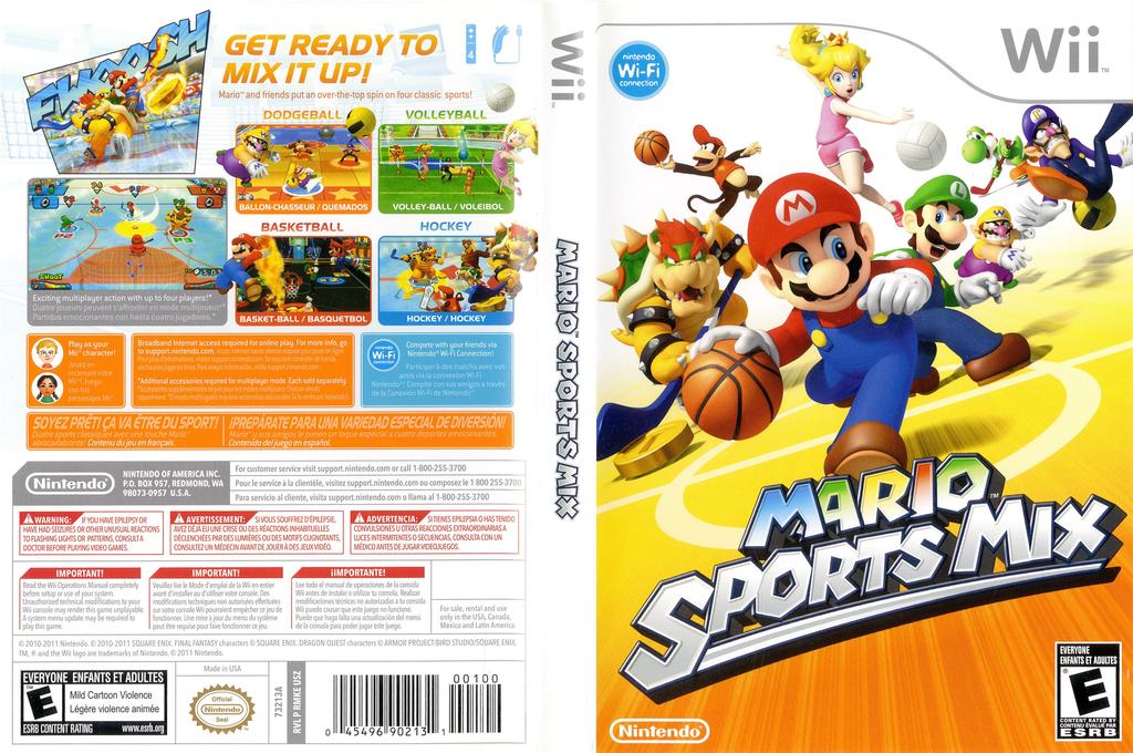 Rmke01 Mario Sports Mix