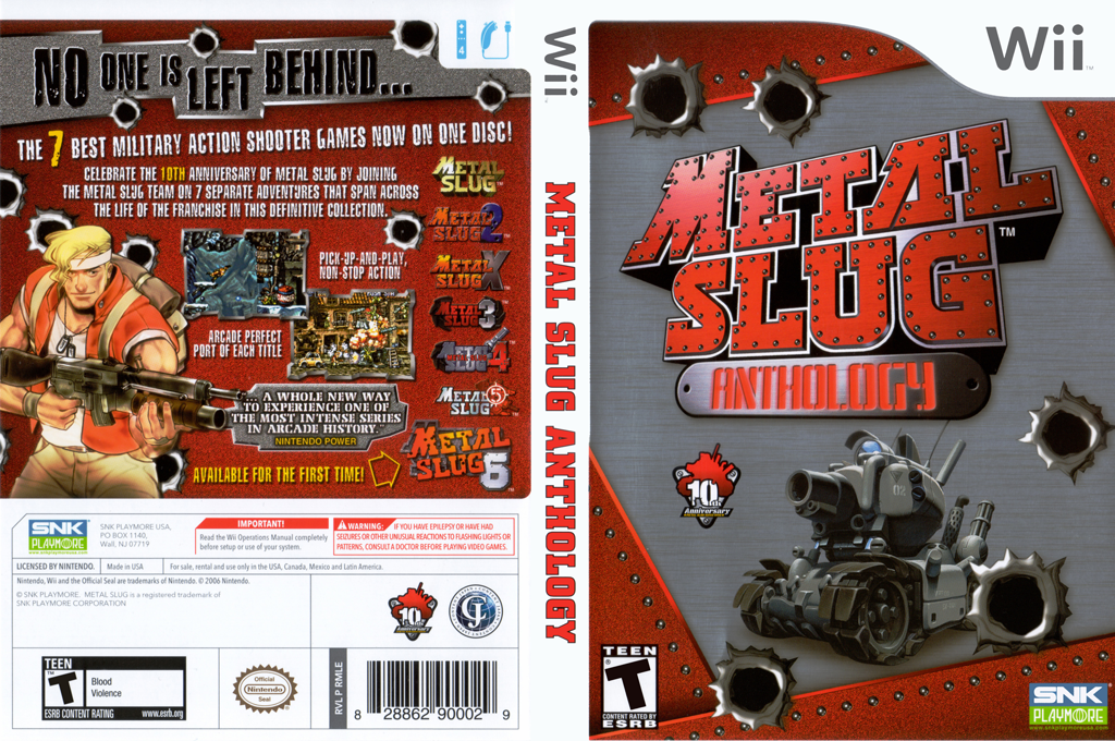 Metal Slug Anthology Wii coverfullHQ (RMLEH4)