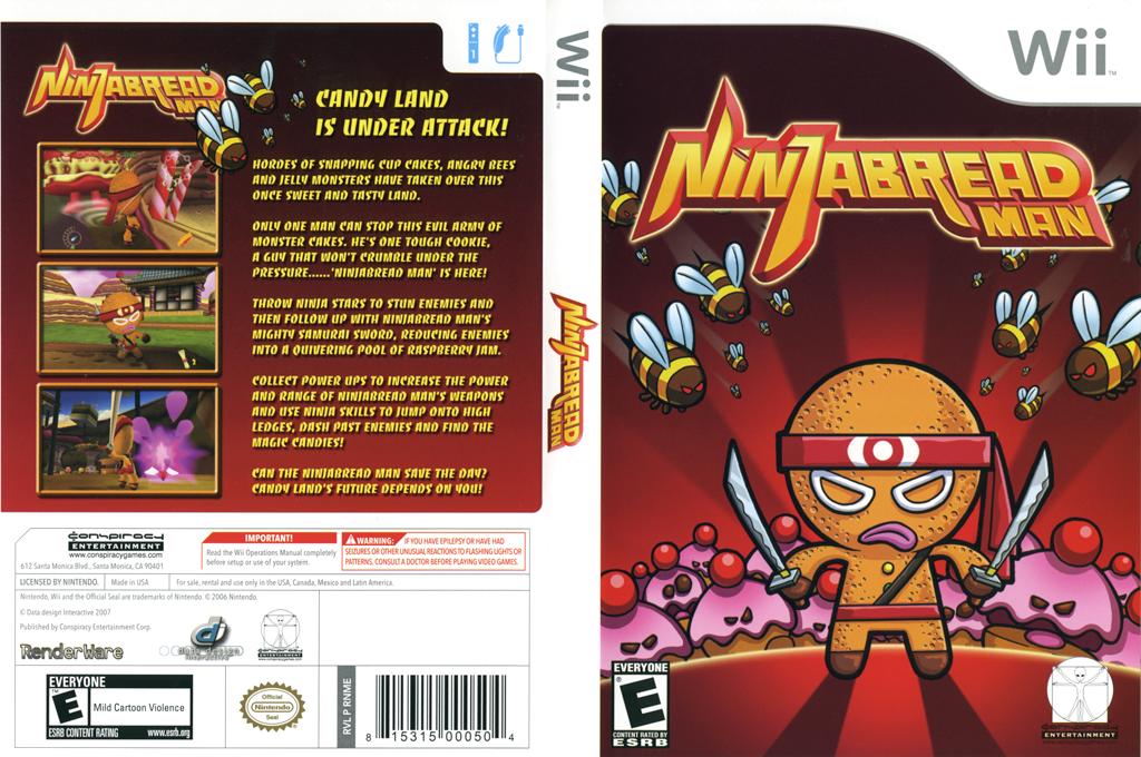 Ninjabread Man Wii coverfullHQ (RNME5Z)