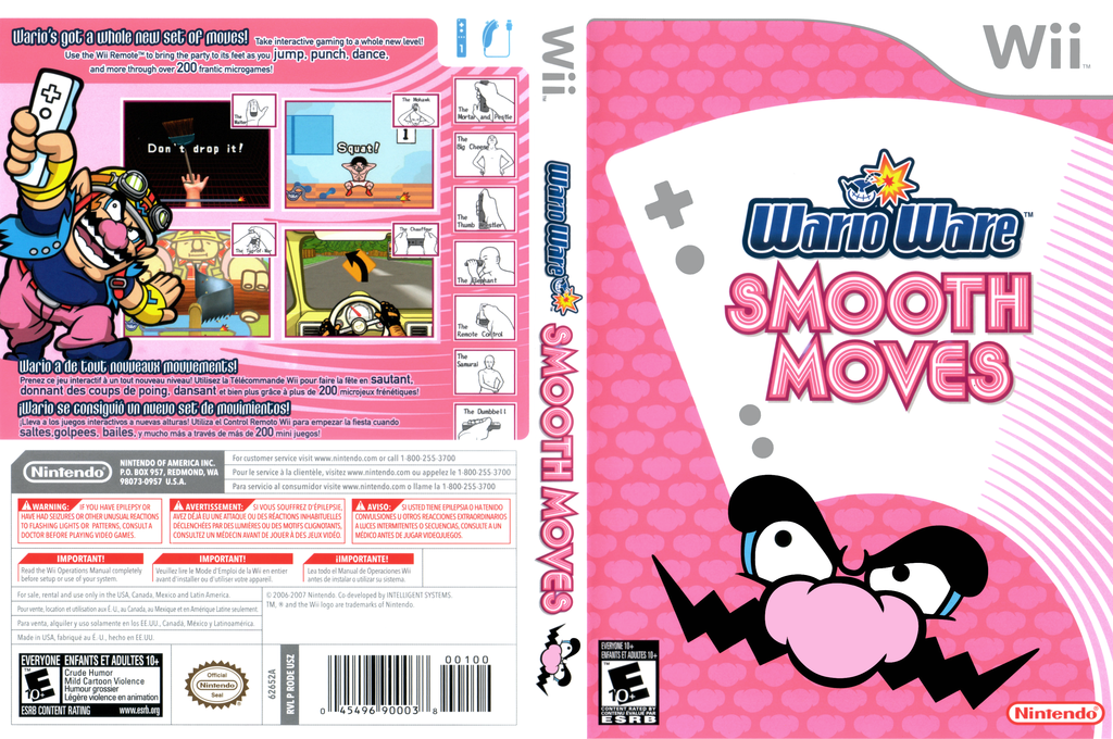 WarioWare: Smooth Moves Wii coverfullHQ (RODE01)