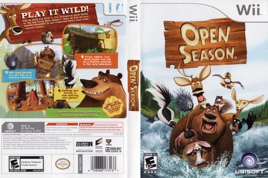 Open Season Wii coverfullHQ (ROPE41)