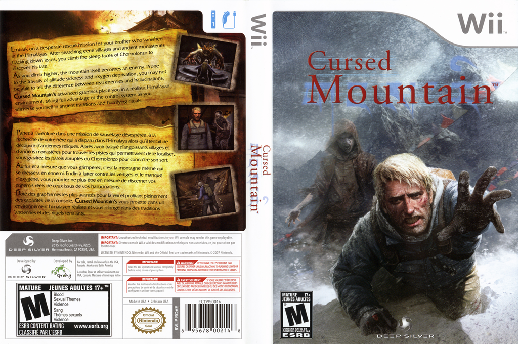 Cursed Mountain Wii coverfullHQ (RQ6EJJ)