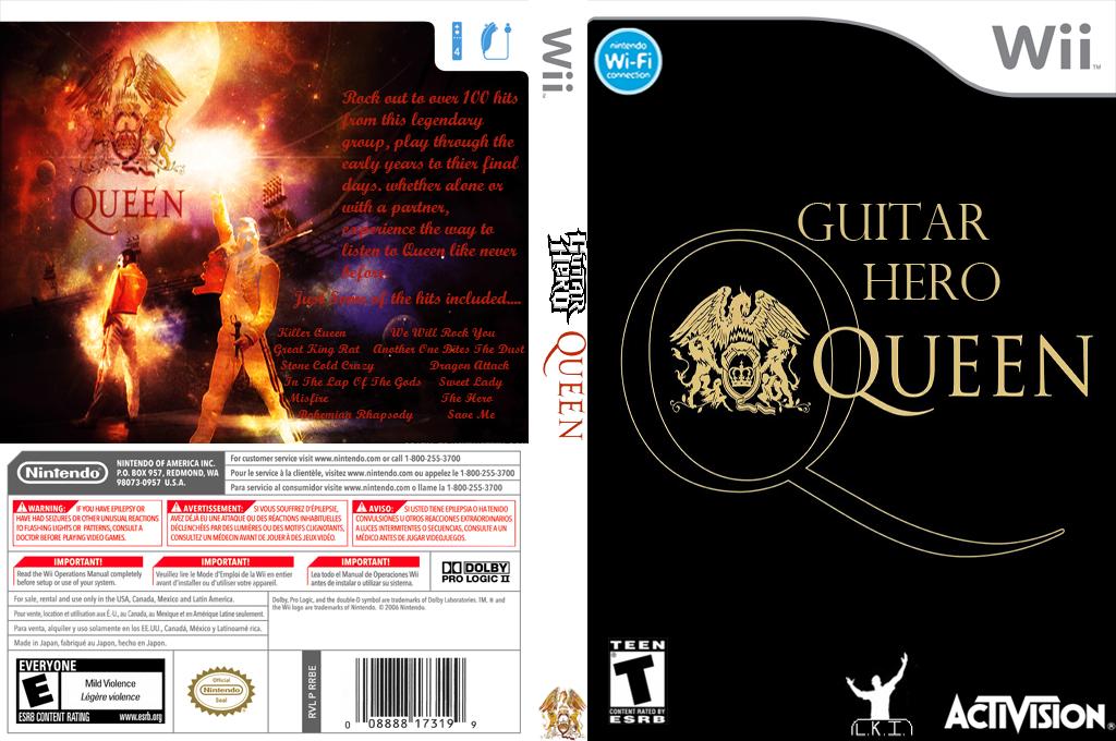 Guitar Hero III Custom:Queen Wii coverfullHQ (RQQE52)