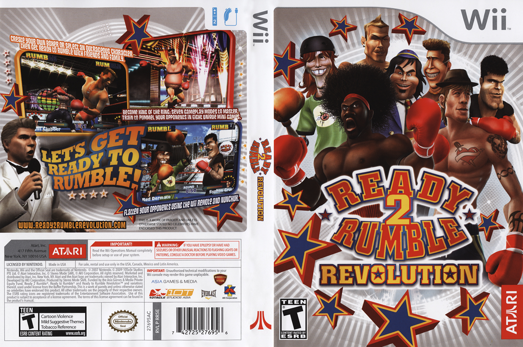 Ready 2 Rumble Revolution Wii coverfullHQ (RR5E70)