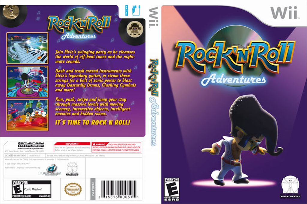 Rock 'N' Roll Adventures Wii coverfullHQ (RRAE5Z)