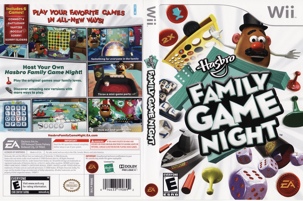 Hasbro: Family Game Night Wii coverfullHQ (RRME69)