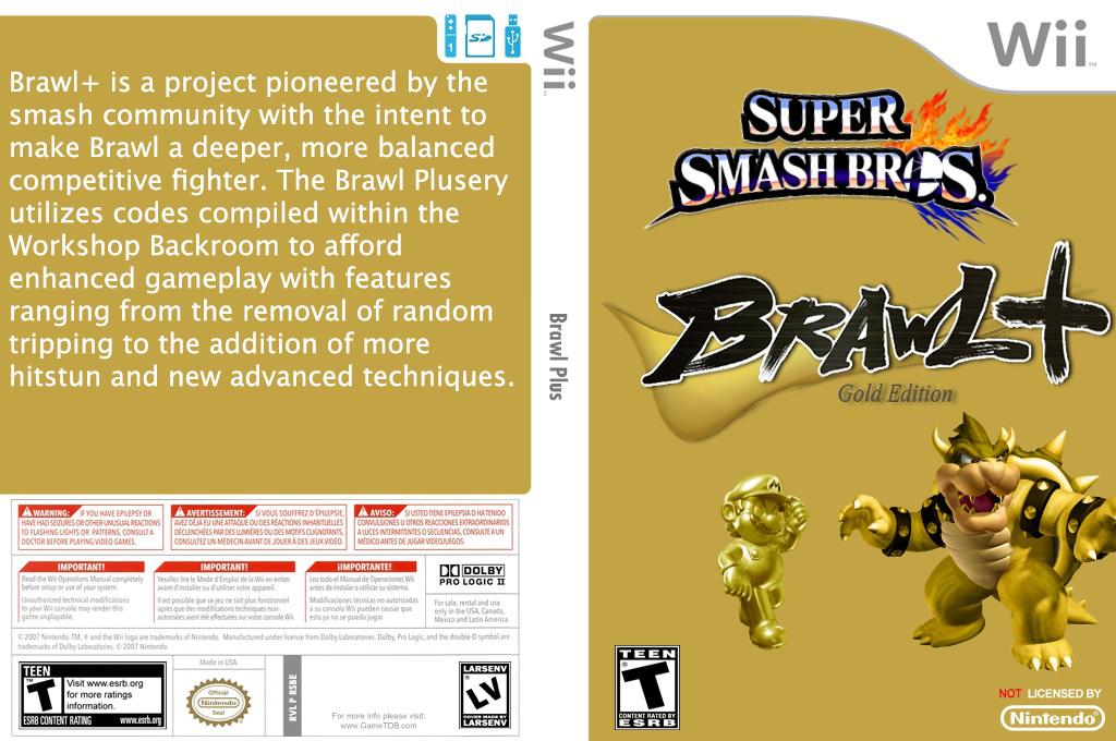 Super Smash Bros. Brawl Plus Wii coverfullHQ (RSBEBP)