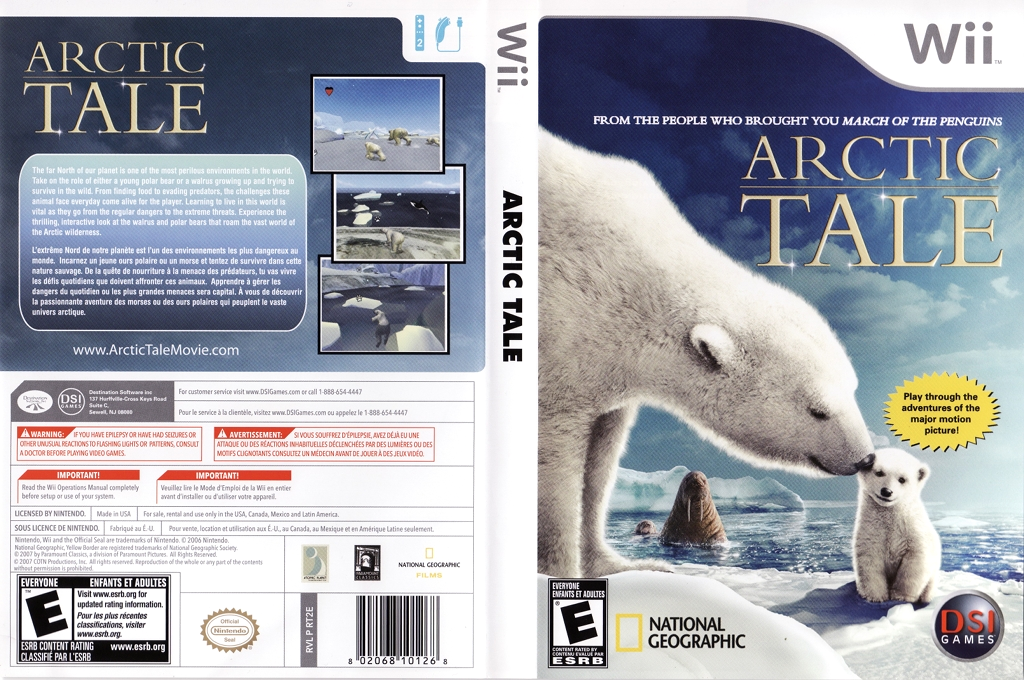 Arctic Tale Wii coverfullHQ (RT2E20)