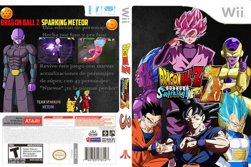 Dragon ball Z Budokai Tenkaichi 3 WII TSM Wii coverfullHQ (RTME70)