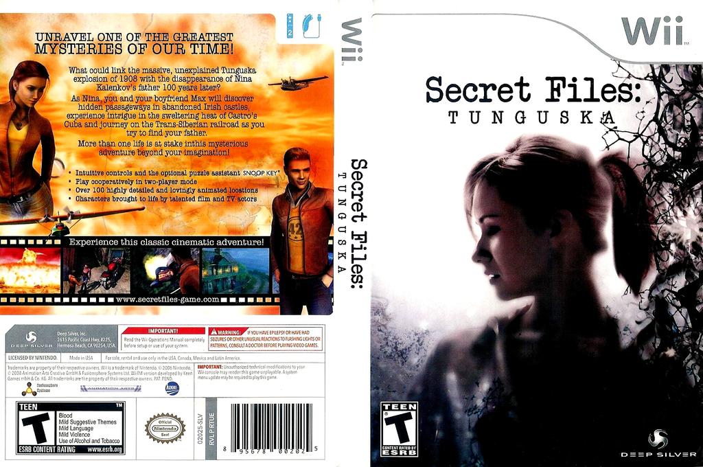 Secret Files Tunguska Wii coverfullHQ (RTUEJJ)