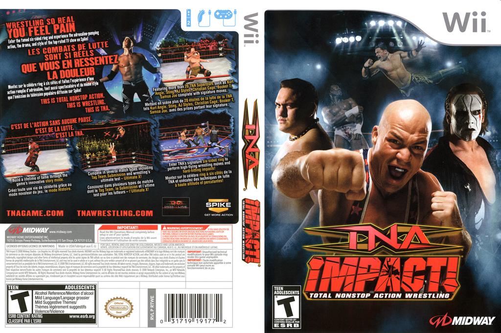 TNA iMPACT! Wii coverfullHQ (RTWE5D)