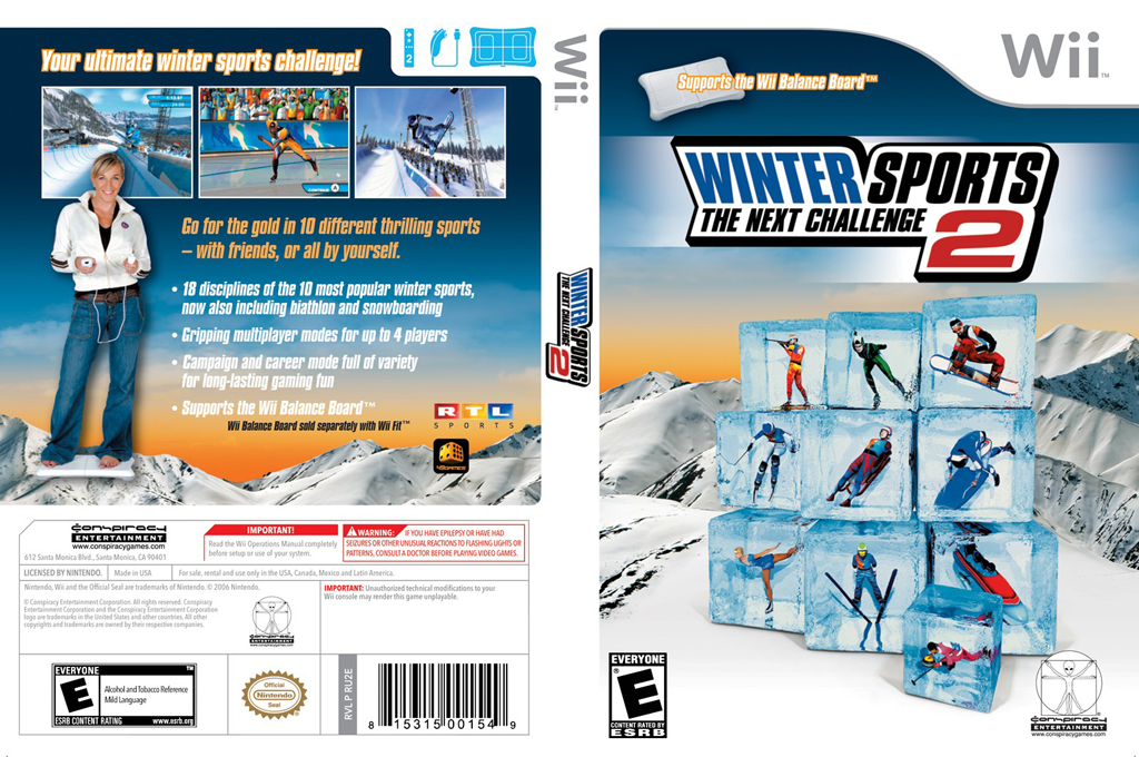 Winter Sports 2: The Next Challenge Wii coverfullHQ (RU2E5Z)