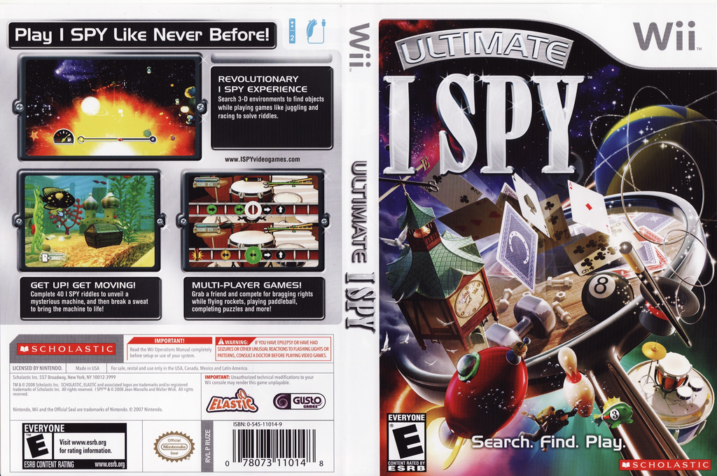 Ultimate I SPY Wii coverfullHQ (RUZE7T)