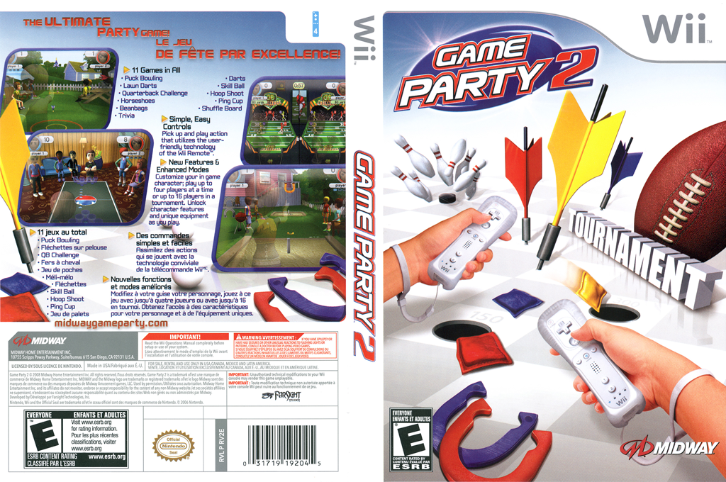 Game Party 2 Wii coverfullHQ (RV2E5D)