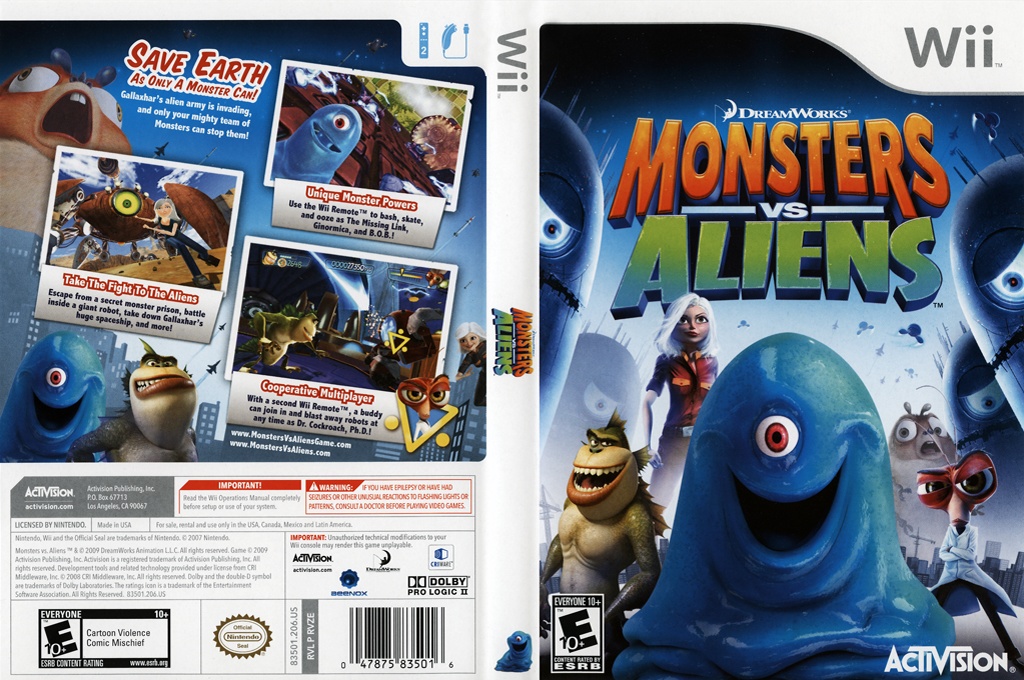Monsters vs. Aliens Wii coverfullHQ (RVZE52)