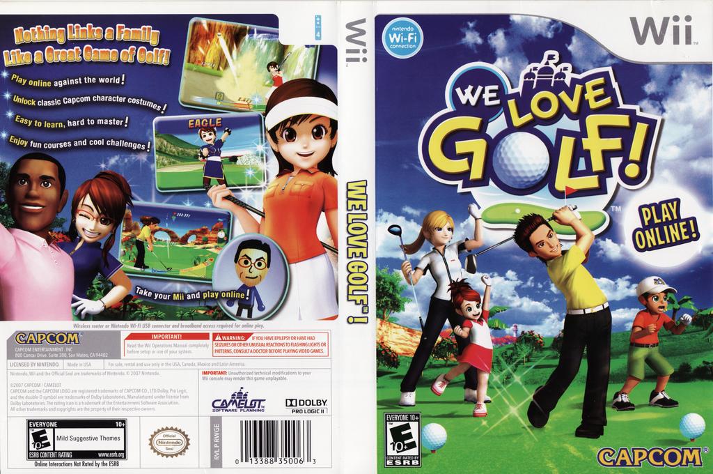 We Love Golf! Wii coverfullHQ (RWGE08)
