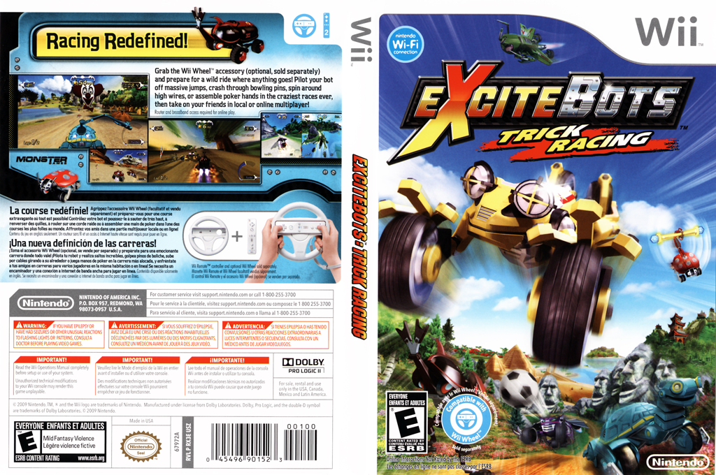 ExciteBots: Trick Racing Wii coverfullHQ (RX3E01)