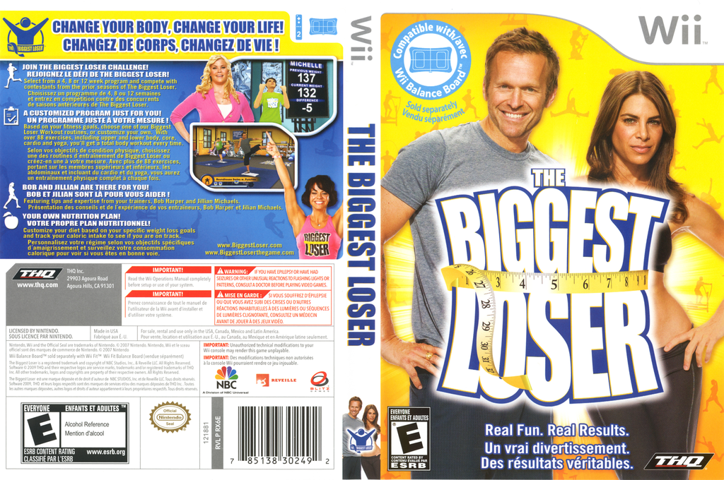 The Biggest Loser Wii coverfullHQ (RX6E78)