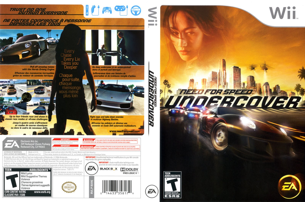 Need for Speed: Undercover Wii coverfullHQ (RX9E69)