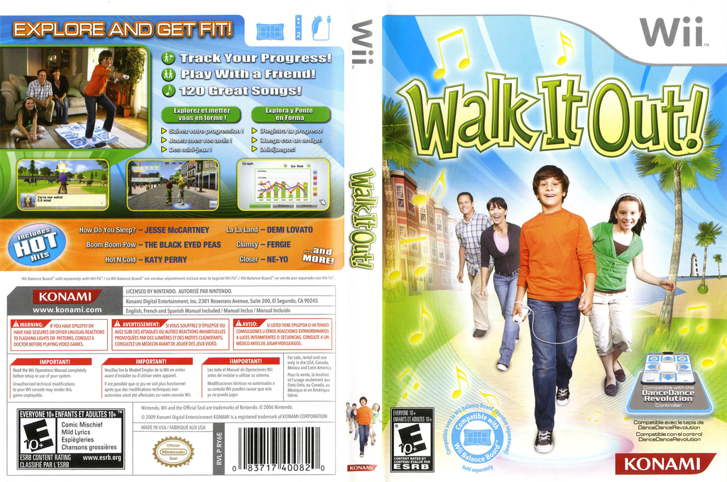 Walk It Out! Wii coverfullHQ (RY6EA4)