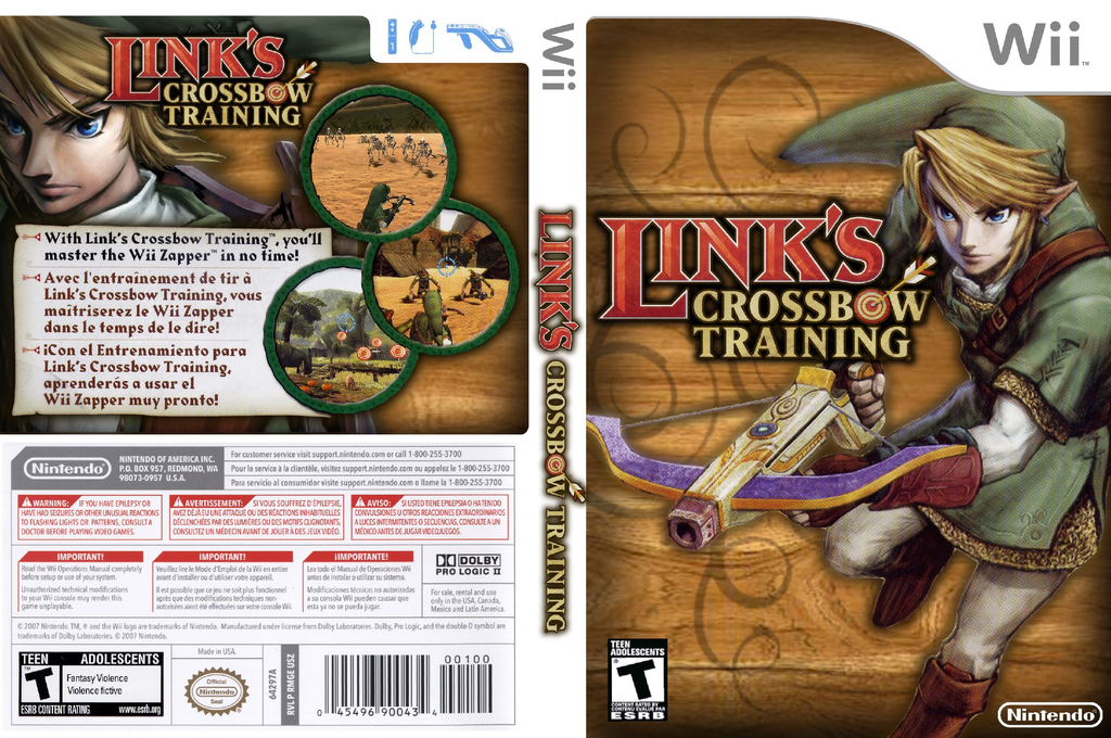 Link's Crossbow Training Wii coverfullHQ (RZPE01)