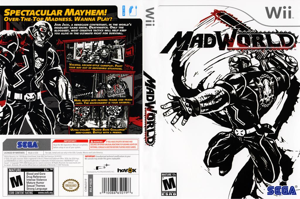 MadWorld Wii coverfullHQ (RZZE8P)