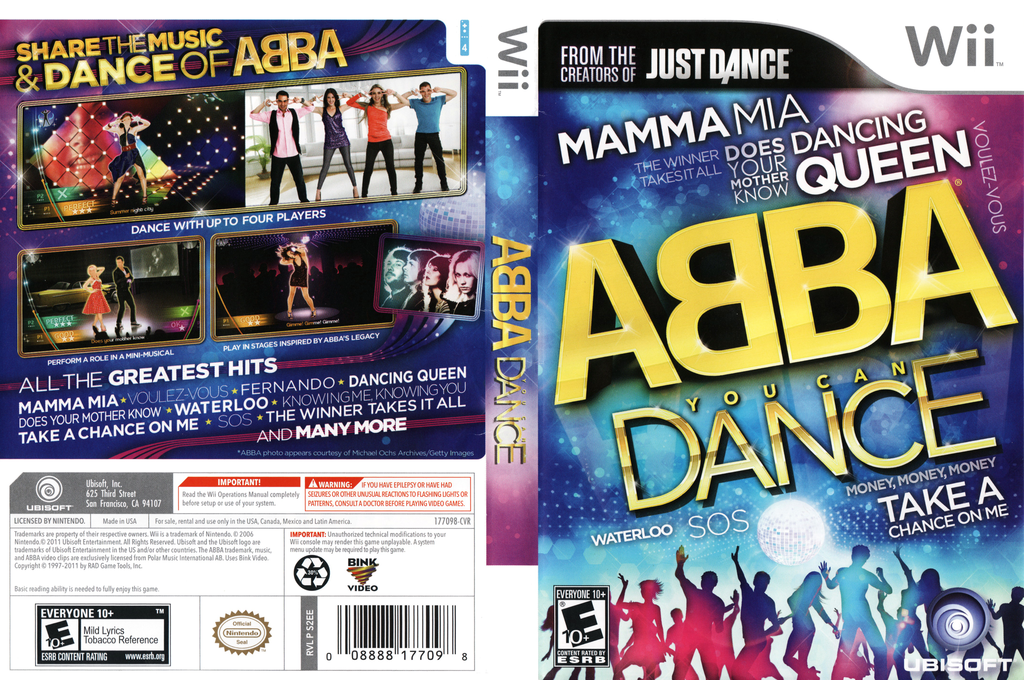 ABBA: You Can Dance Wii coverfullHQ (S2EE41)