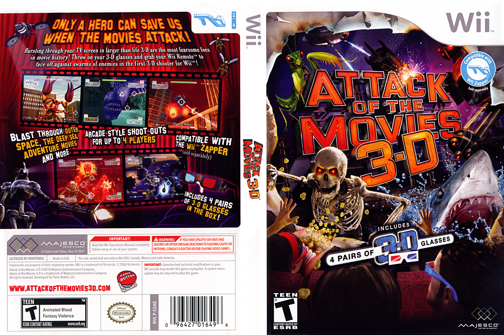 Attack of the Movies 3D Wii coverfullHQ (S3AE5G)