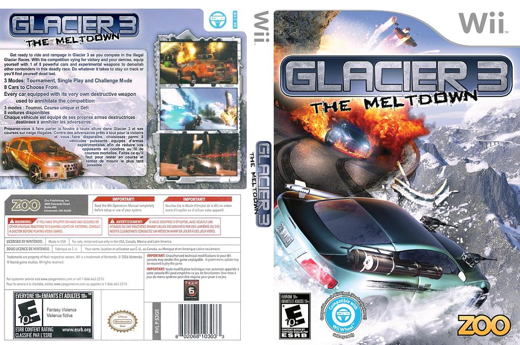 Glacier 3: The Meltdown Wii coverfullHQ (S3GE20)