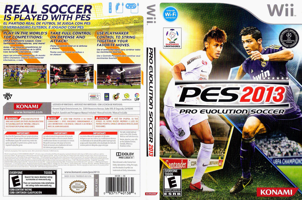Pro Evolution Soccer 2013 Wii coverfullHQ (S3IEA4)