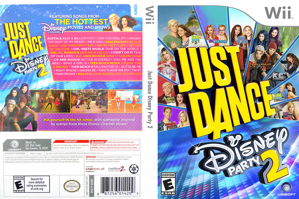 Just Dance Disney Party 2 Wii coverfullHQ (S5DE41)