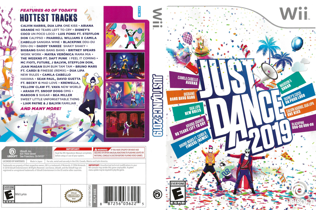 Just Dance 2019 Wii coverfullHQ (S5EE41)