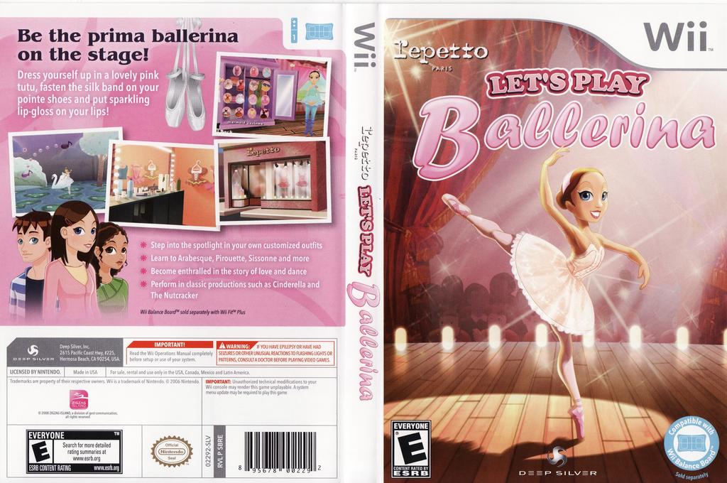 Let's Play Ballerina Wii coverfullHQ (SBREJJ)