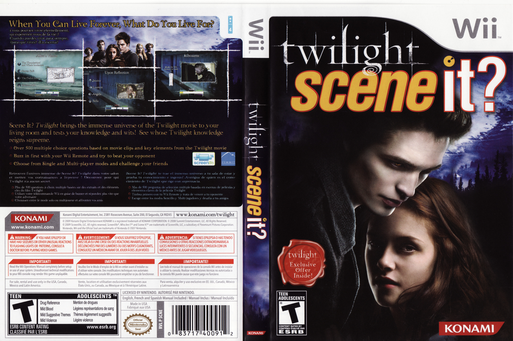 Scene It? Twilight Wii coverfullHQ (SCNEA4)
